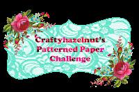 Craftyhazelnut's Patterned Paper Challenge