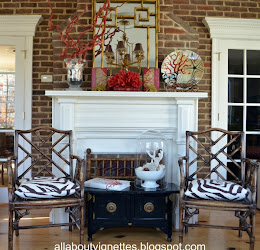 My Chinoiserie Mantel Featured on Apartment Therapy