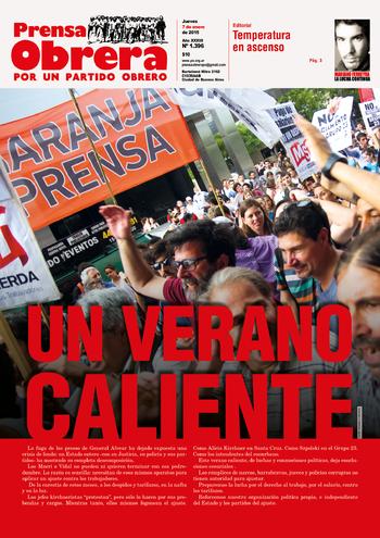 PRENSA OBRERA Nº 1396