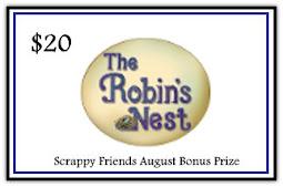 Scrappy Friends August BONUS Prize