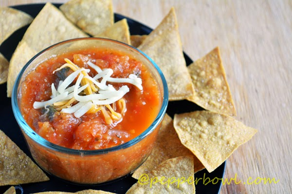 Home Made Salsa  Recipe