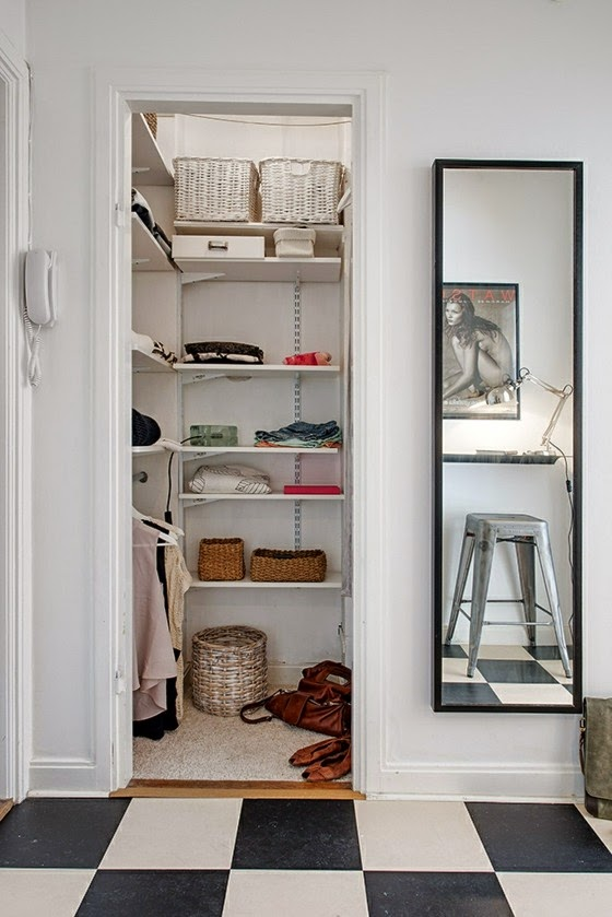 Small Walk In Closet how to organize a small walk in closet: 20 ideas