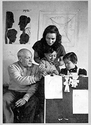 Picasso met Françoise Gilot