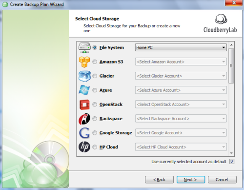 select-cloud-storage-service