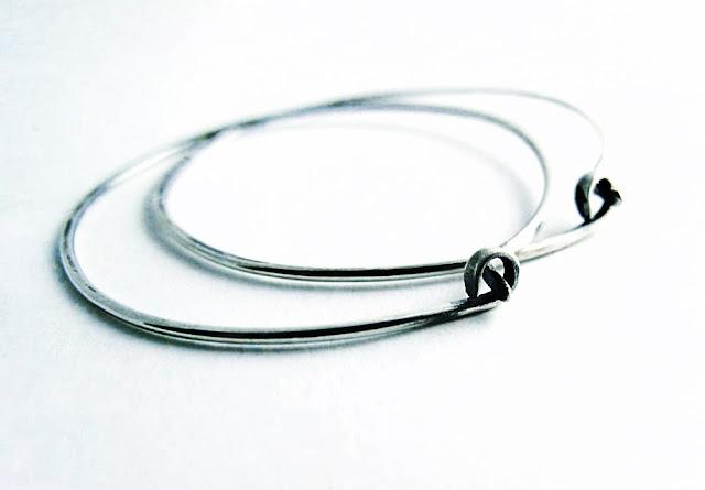 video jewelry tutorial sterling silver hammered wire hoop earrings earwires beth hemmila