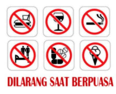Hal-Hal Yang Dapat Membatalkan Puasa Ramadhan