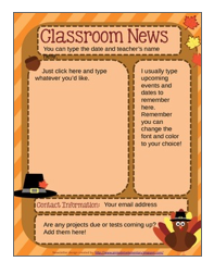 http://www.teacherspayteachers.com/Product/Fall-FREEBIE-Editable-Newsletter-to-test-out-in-your-classroom-985151