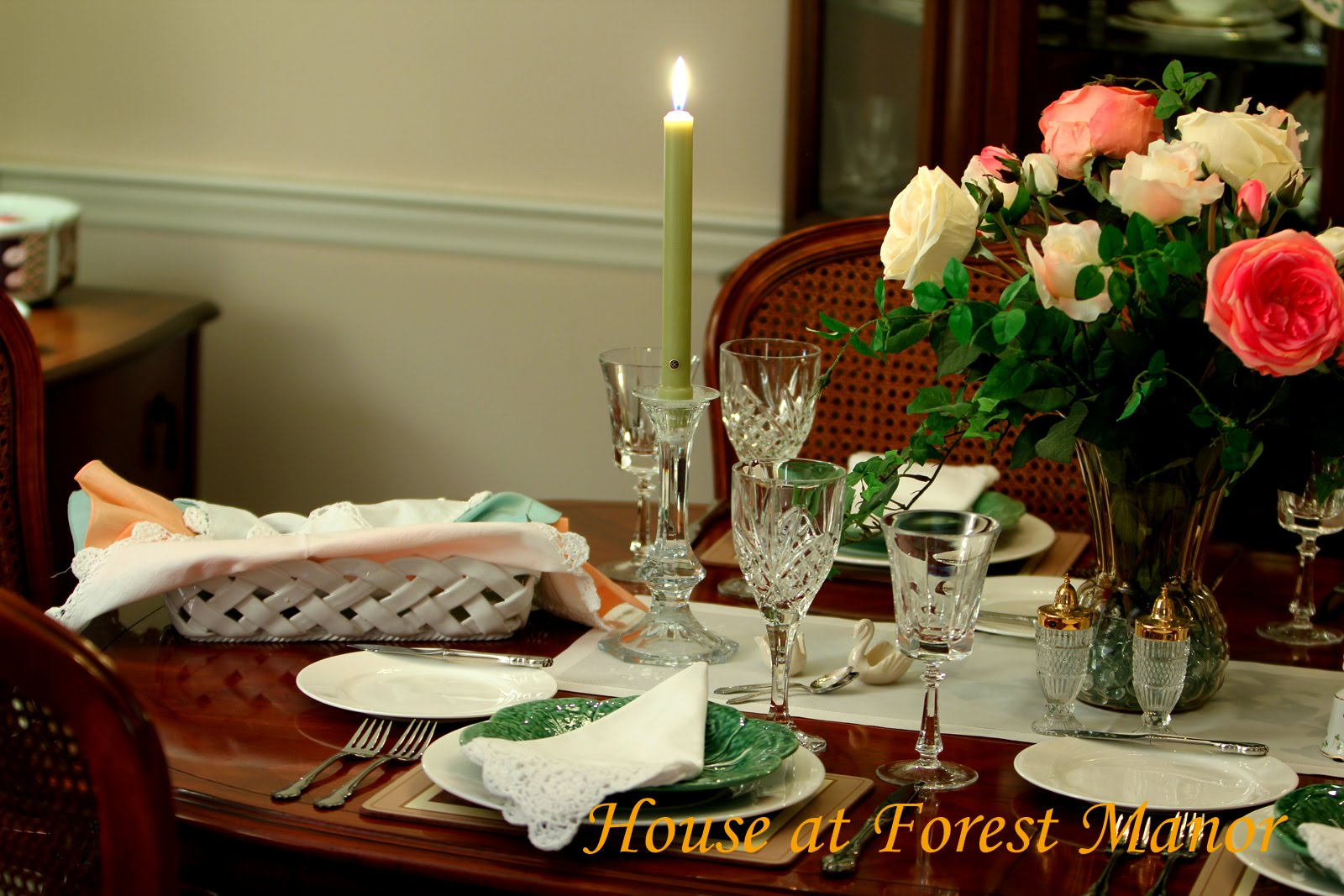St. Pat's Day Tablescapes