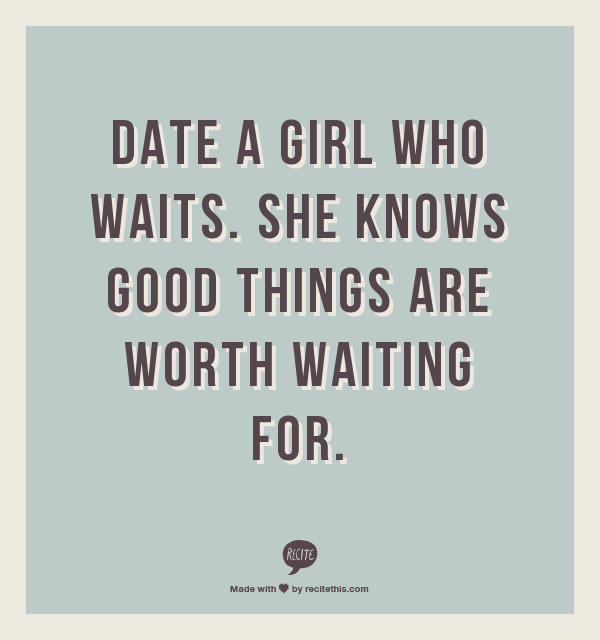 The Girl Who Waits
