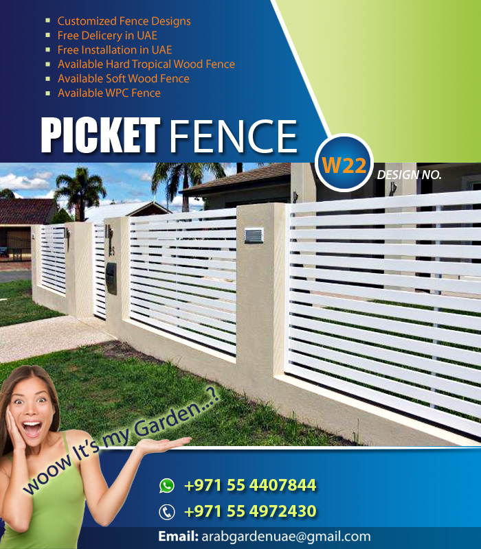 Creative Wooden Fence | Flower Privacy Fence | Kids Privacy Fence | Black  Wooden Horse Fence | Metal Fence | White Picket Fence |
