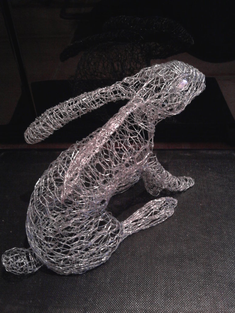 3d wire sculpture the image kid has it