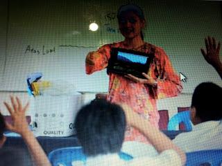lisa jadi cikgu