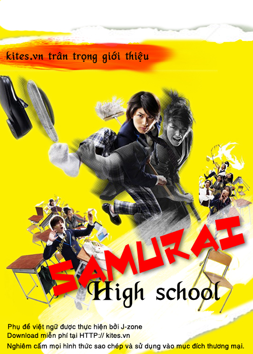 Trung Học Samurai - Phong Ấn Samurai - Samurai High School
