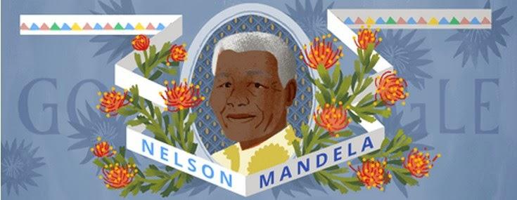 "Google Doodle Nelson Mandela ""Madiba"" Birthday"