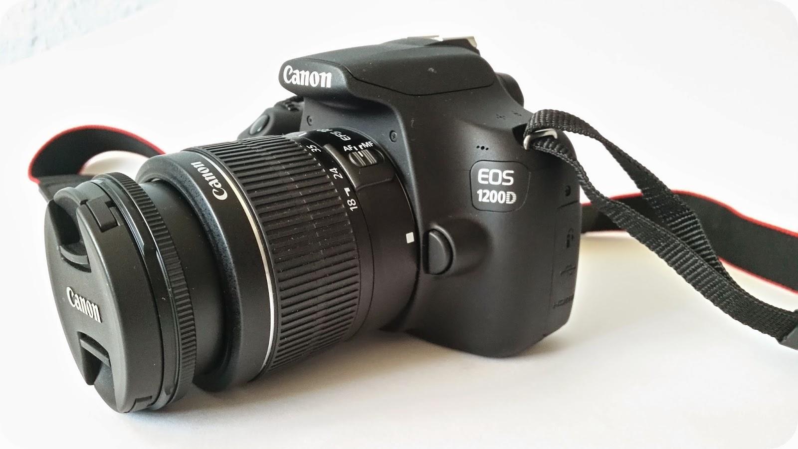 Canon 1200D Seitenansicht