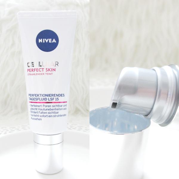 Nivea Cellular Perfect Skin - Perfektionierendes Tagesfluid LSF15 - review, testbericht, erfahrungen