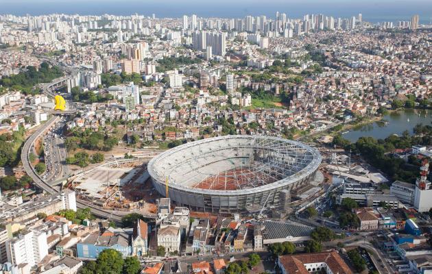 Arena Fonte Nova em Salvador será inaugurada no dia 28 de fevereiro de 2013, segundo governo baiano