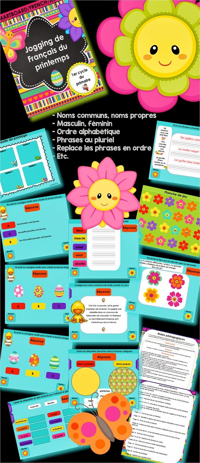 https://www.teacherspayteachers.com/Product/FRENCHSMARTBOARDJogging-de-Francais-du-printemps-1183302