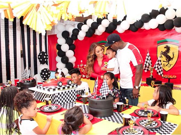 50 Cent & Daphne Joy Throw Their Son A Ferrari-Themed ...