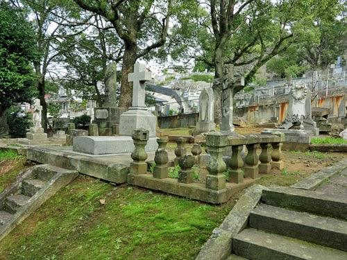 Sakamoto International Cemetery Nagasaki, Kyushu, Japan