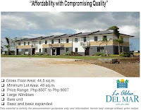 La Aldea del Mar Townhouse House and Lot for Sale Mactan Cebu with Pag-IBIG Housing Loan