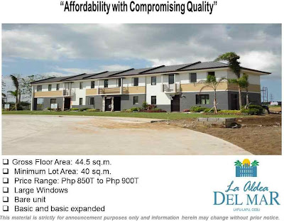 La Aldea Del Mar Mactan Lapu-Lapu City Cebu House and Lot Townhouse For Sale