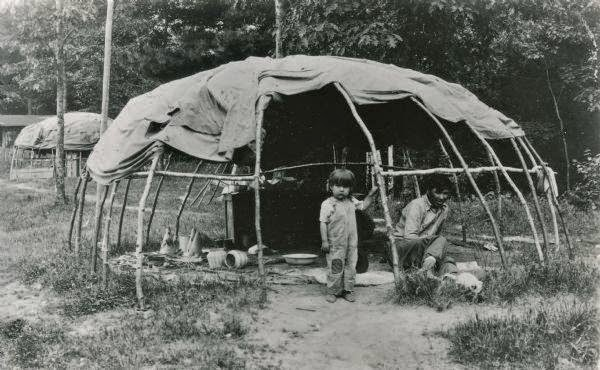 Simple Winnebago Indian Tribe Or HoChunk In Wisconsin