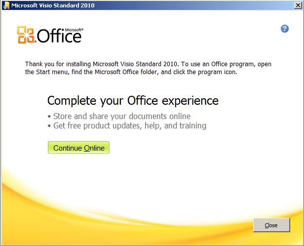 Tutorial Cara Install Microsoft Visio 2010
