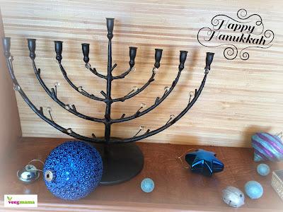 VeegMama celebrates Hanukkah