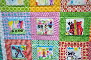 Kids&#39; portrait quilt