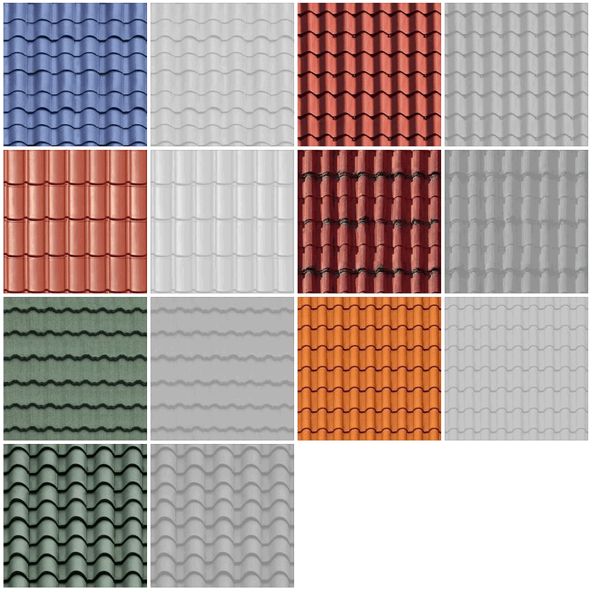 SKETCHUP TEXTURE: TEXTURE ROOFS