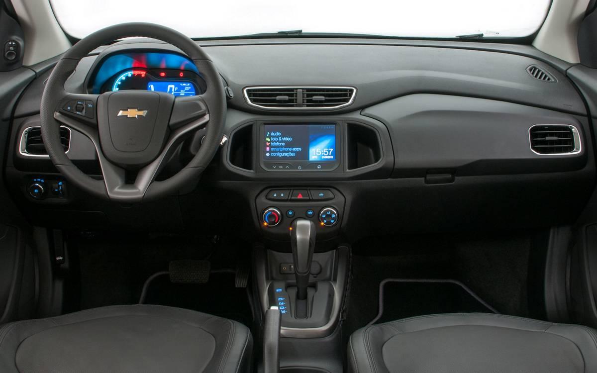 nova transmissão que equipa o compacto da GM é a unidade GF6 - 2ª