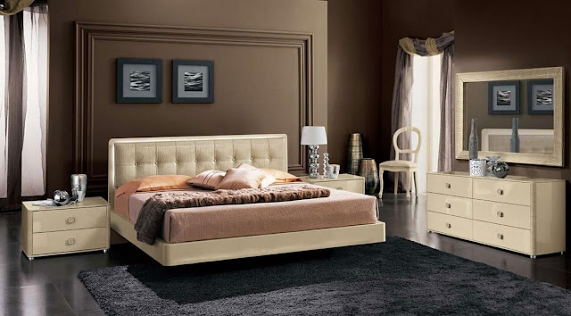 meubles chambre coucher contemporaine. Black Bedroom Furniture Sets. Home Design Ideas
