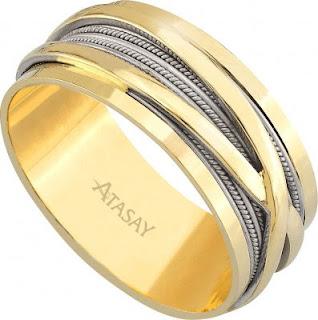 alyans atasay 2 Evlilik Yüzüğü Modelleri