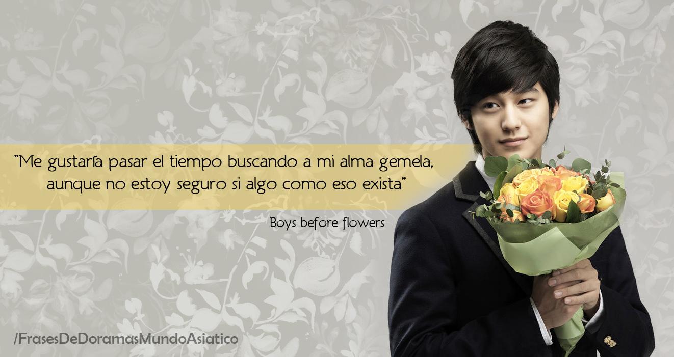 Boys before flowers for Jardin secreto novela coreana