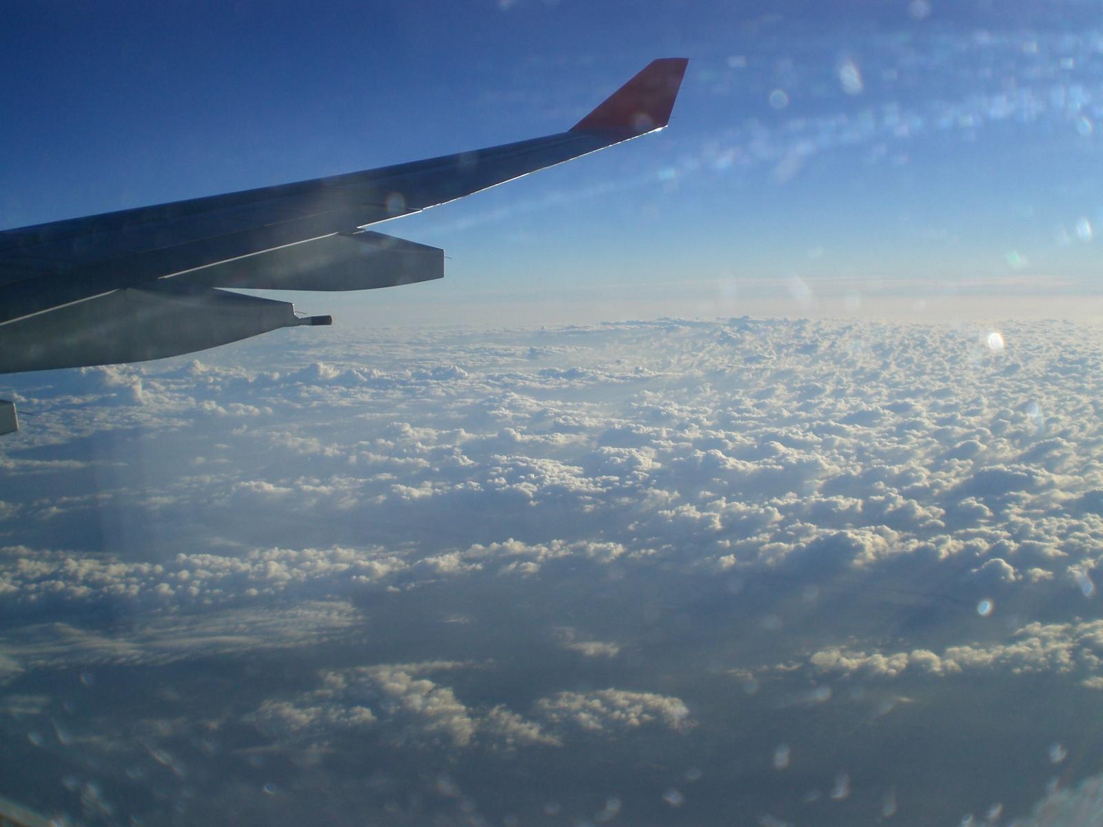 Básico de quem nunca andou de avião tirar foto das nuvens huahua #40638B 1600 1200