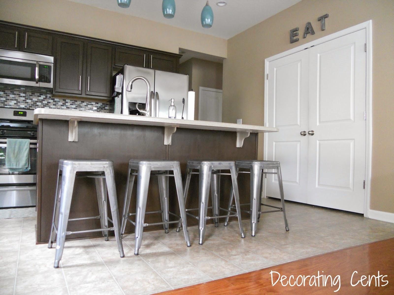 Decorating Cents: Kitchen Bar Stools
