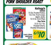 New Coupon:  $1/3 Kellogg's Cereal ($1.36 At Food4Less, $1.33 at Ultra Foods & A Meijer Deal!)