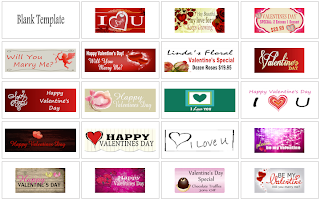 Valentine's Day Banner Templates