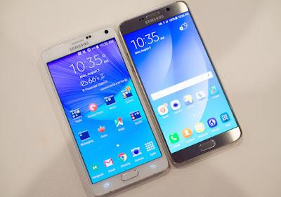 مقارنة بين هاتف نوت 4 ونوت 5