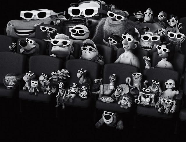 Pixar Karakterleri Sinemada