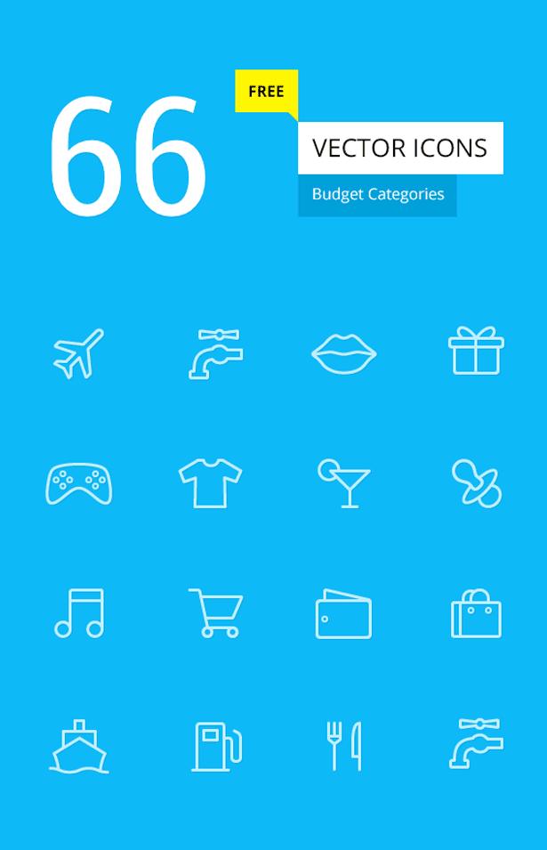 Budget Icon Set