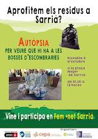 Autòpsia Residus Sarrià. Festa Major 2016