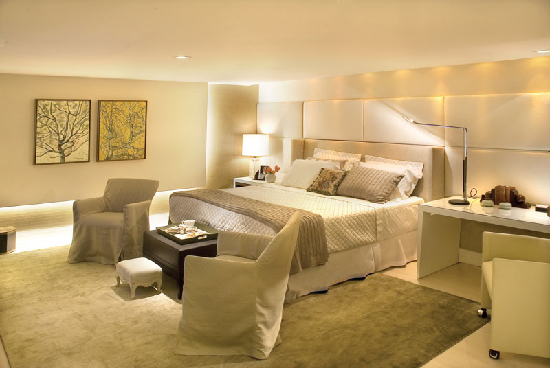 decoracao de interiores quartos casal:Villa Vintage: QUARTO DE CASAL