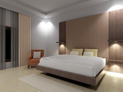 Design Kamar Utama minimalis