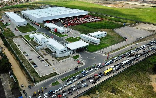 Vista da Fábrica Coca-Cola - Maceió/AL