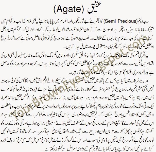Aqeeq stone benefits urdu agate stone in islam aqeeq for Soil meaning in urdu