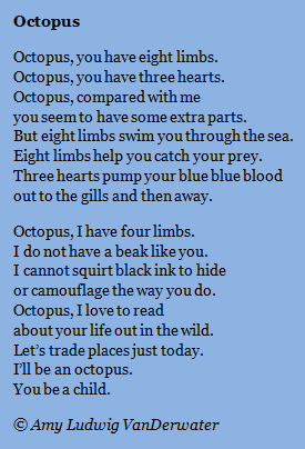 comparison poem octopus and an article