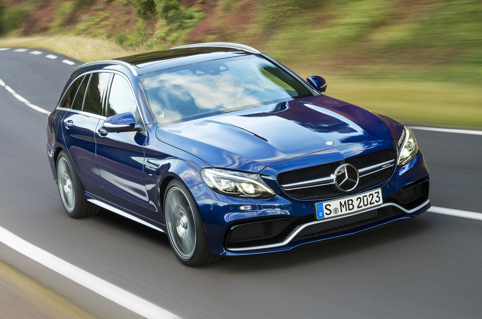 More photos of new mercedes benz c63 amg including the for Mercedes benz c63 amg wagon