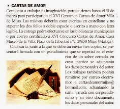 cartas de amor - letters of love 2015 - 2016